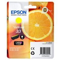 Cartridge Epson C13T33444012, yellow, originál