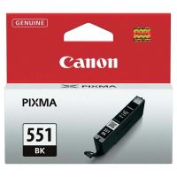 Cartridge Canon CLI-551Bk, black, 6508B001, originál