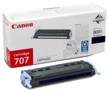 Toner Canon CRG-707B, černý originál