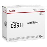 Toner Canon CRG 039H, black, 0288C001, originál