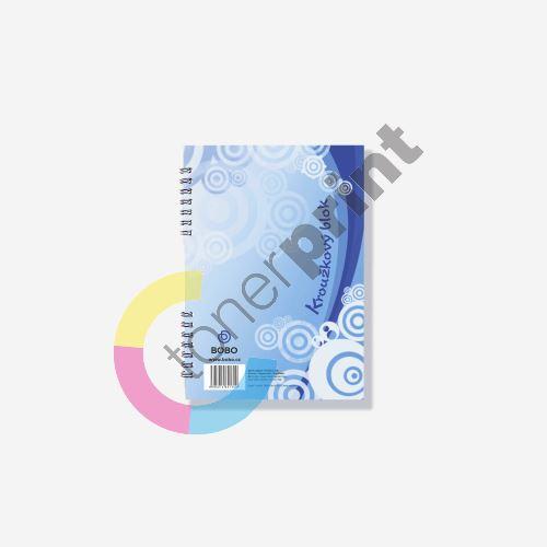 Bobo blok s boční vazbou A5, čistý, 40 listů 1
