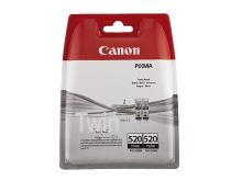 Cartridge Canon PGI-520K, 2932B012, Twin pack, black, originál