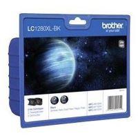 Cartridge Brother LC-1280XLBKBP2, black, 2-pack, HC, originál