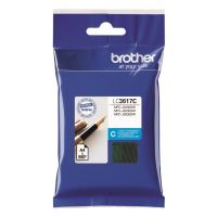 Cartridge Brother LC-3617C, cyan, originál
