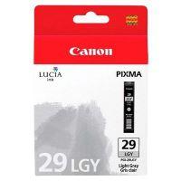 Cartridge Canon PGI-29LGY, 4872B001, light grey, originál