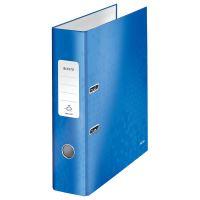 Pákový pořadač 180 Wow, modrá, lesklý, 80 mm, A4, PP/karton, LEITZ