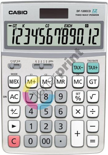Kalkulačka Casio DF 120 eco 1