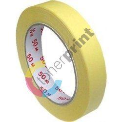 Krepová lepící páska 19 mm x 50 m 2