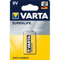 Baterie Varta Superlife 6F22, 9V