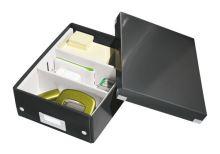 Archivační organizační box Leitz Click-N-Store S (A5), černý