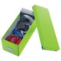 Archivační krabice na CD Leitz Click-N-Store WOW, zelená 3
