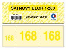 Šatnový blok ET295 1bal/200ks 6