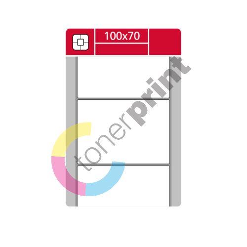 TTR etikety na kotouči 100x70mm, TTR, 1000 etiket role 1