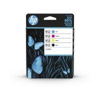 Inkoustová cartridge HP 6ZC74AE, Officejet 8012, 8013, CMYK, 912, originál