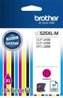 Cartridge Brother LC-525XLM, magenta, originál