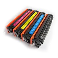 Toner HP CF532A, yellow, 205A, MP print