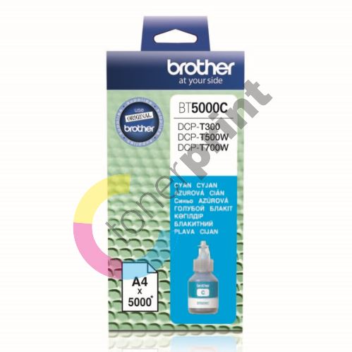 Cartridge Brother BT5000C, cyan, originál