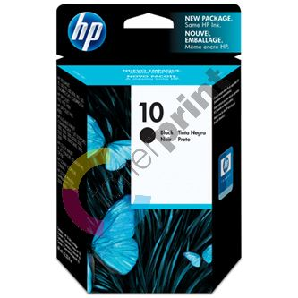Cartridge HP C4844AE, No. 10, black, originál