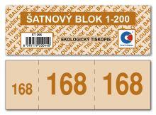 Šatnový blok ET295 1bal/200ks 7
