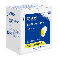 Toner Epson C13S050747, yellow, originál