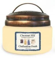Chestnut Hill Vonná svíčka ve skle Čisté prádlo - Clothesline Fresh, 10oz