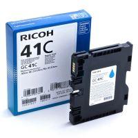 Gelová náplň Ricoh GC41C, 405762, cyan, originál