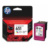 Cartridge HP C2P11AE, No.651, color, originál