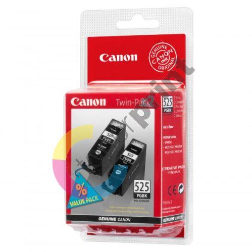 Cartridge Canon PGI-525BK Twin Pack, 4529B006AA, originál 1