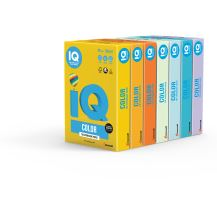 Barevný papír IQ YE 23 A4 80g světle žlutá 1bal/500ks 3