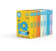 Barevný papír IQ ZG 34 A4 80g žlutá 1bal/500ks 3