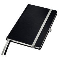 Zápisník Leitz STYLE A5, tvrdé desky, čtverečkovaný, saténově černý