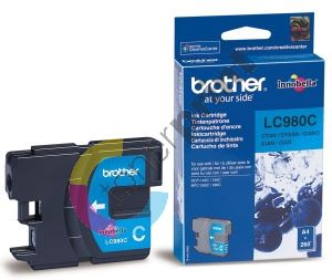 Cartridge Brother LC-980C, originál 1