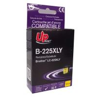 Cartridge Brother LC-225XLY, yellow, UPrint