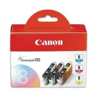 Cartridge Canon CLI-8 CMY, originál