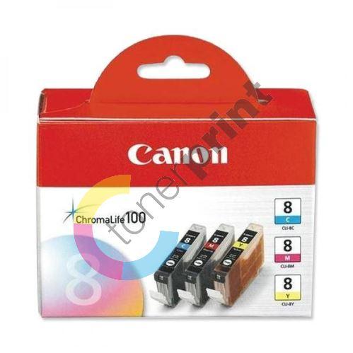 Cartridge Canon CLI-8 CMY, originál 1