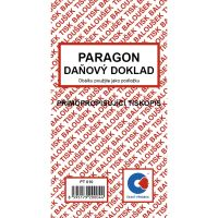 Paragon daňový doklad samopropis A6 PT-010 / 50 listů jeden blok