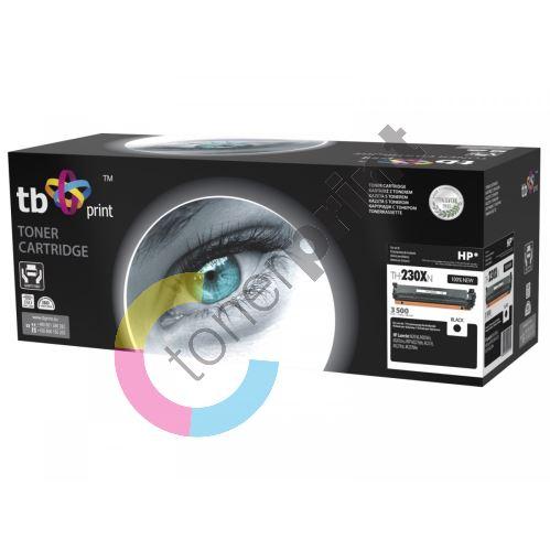 TB toner kompatibilní s HP CF230X, LJ M203d, 100% new, Black 1