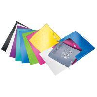 Desky s gumičkou Wow Jumbo, ledově modrá, 30 mm, PP, A4, LEITZ 3