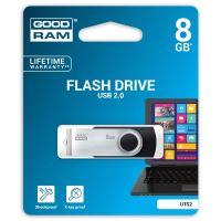 Goodram UTS2 8GB, USB flash disk 2.0, černá