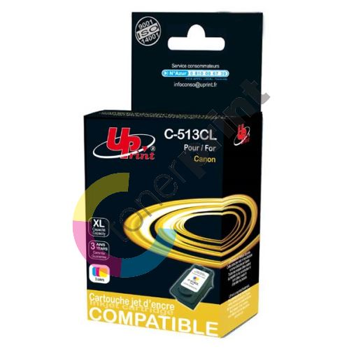 Cartridge Canon CL-513, color, TB, UPrint 1