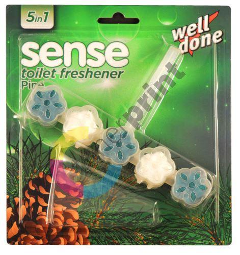 WD Sense WC blok 5 in 1 Pine