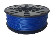 Gembird tisková struna (filament) flexibilní, 1,75mm, 1kg, modrá
