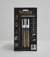 Střední křídový popisovač Securit, šířka hrotu 2-6 mm 2 kusy, fialový