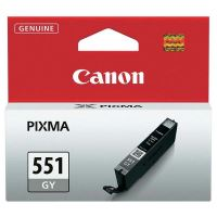 Cartridge Canon CLI-551GY, grey, 6512B001, originál